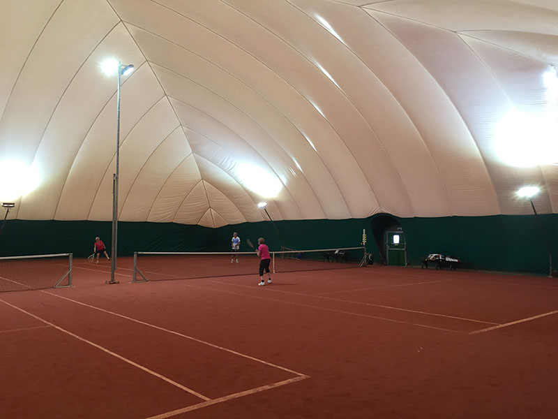 SmashCourt indoor tennisbanen Image