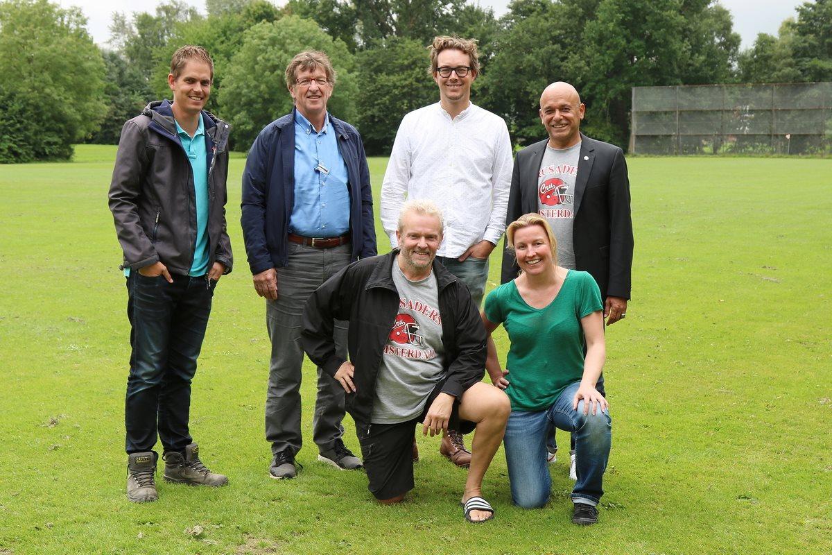 CSC Sport mag eerste American football kunstgrasveld in Nederland realiseren