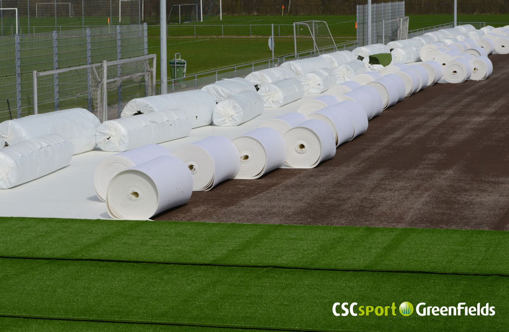 CSCsport•GreenFields installeert eerste NonFill voetbalveld in Nederland