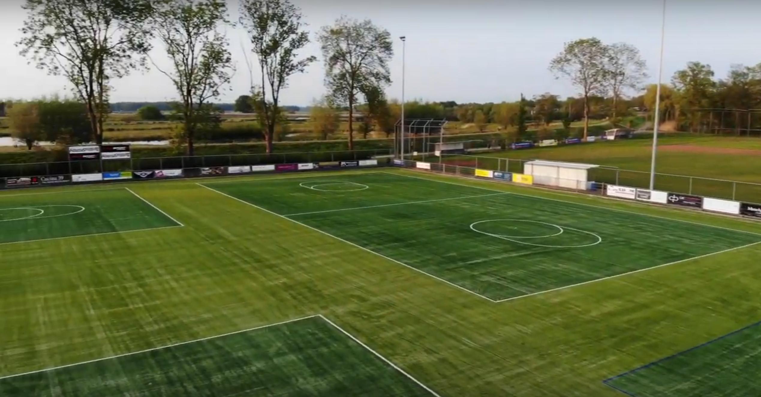 Nieuwe korfbalvelden voor Juventa Hardenberg